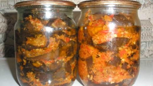 Приготовление баклажанов на зиму — рецепты
