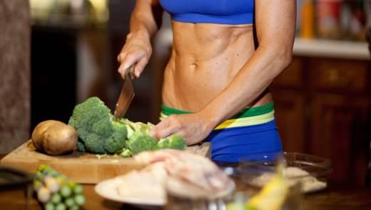 Меню спортивной диеты