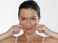 Упражнения для похудения щек