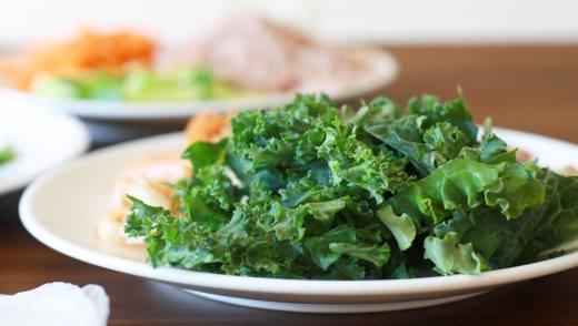 Диетические блюда из капусты кале
