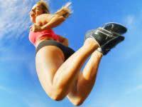 Прыжки на месте для похудения