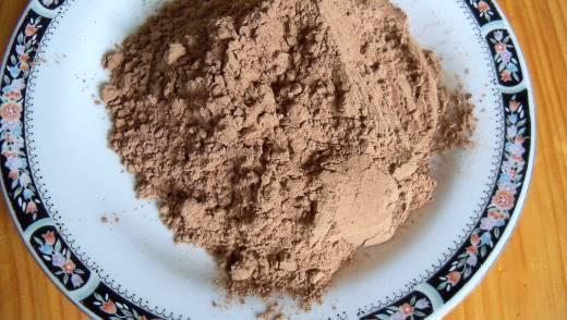 Заменитель какао из стручков рожкового дерева