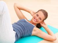 Зарядка для похудения живота