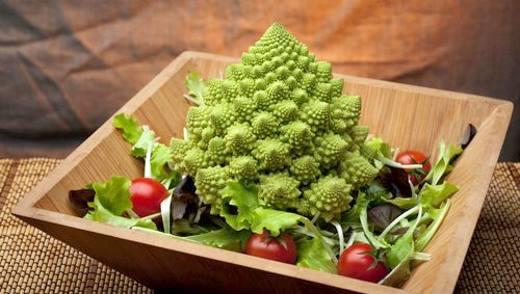 Диетические блюда из капусты романеско
