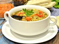 Диетический суп в мультиварке