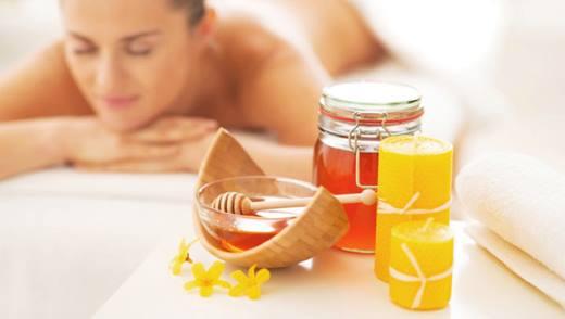 Плюсы медового массажа для похудения
