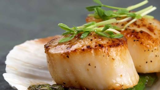 Кулинарные рецепты с морскими гребешками