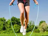 Упражнения со скакалкой