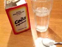Как пить соду для похудения
