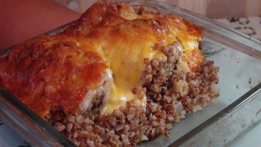 Рецепты гречки с курицей в духовке