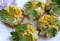 Быстрая закуска из авокадо и творога