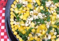 Легкий кукурузный салат