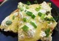 Легкий омлет с сыром