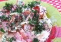 Салат из помидоров с яйцами