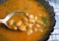 Тыквенный суп с фасолью и чили<