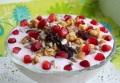 Гранатовый йогурт к завтраку
