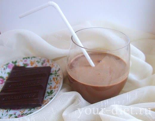Низкоуглеводный горячий шоколад