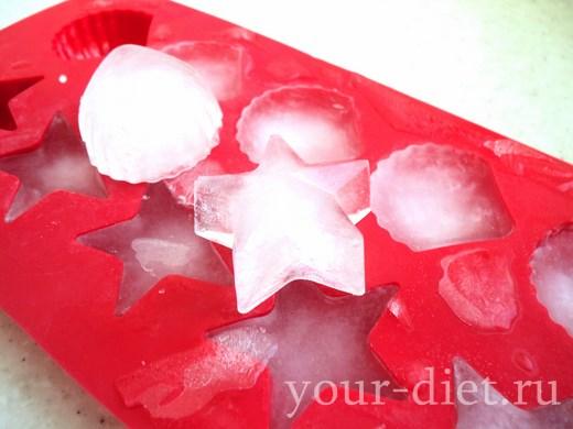 Кусочки льда