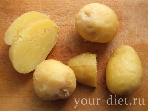 Картофель очищенный