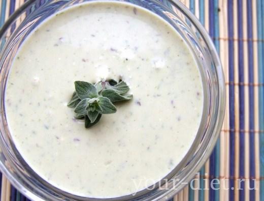 Белый соус с пряностями