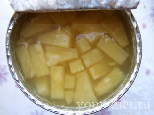 Консервированный ананас