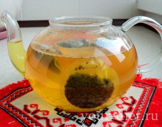 Настаиваем чай