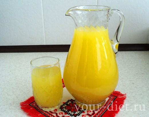 Диетический лимонад готов