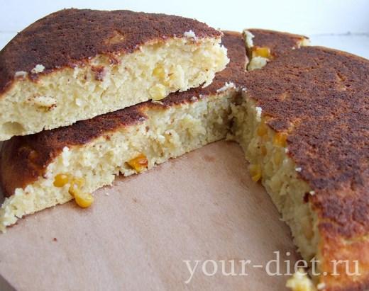 Кукурузный хлеб готов