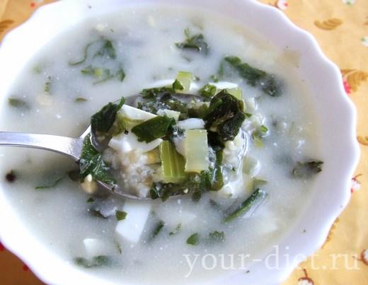 Крапивный суп готов