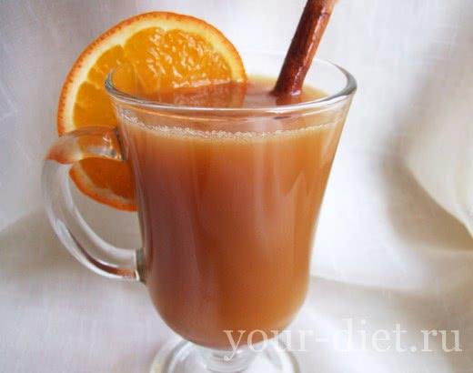Имбирно-цитрусовый чай