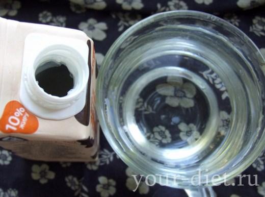 Чернично-ежевичный коктейль, пошаговый рецепт с фото