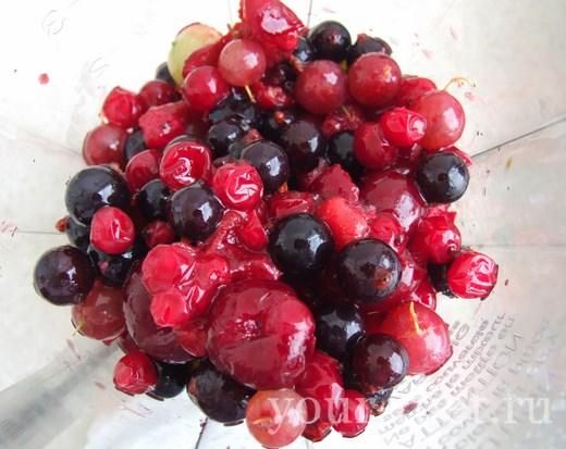 Смузи из копченых фруктов, пошаговый рецепт с фото